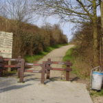 Duinovergang Fort den Haakweg -chalet zeeland