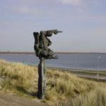 Monument op Veerse Dam -chalet zeeland
